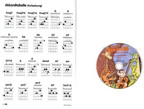 Moro y Lilli banda 2 – Guitarra Colegio para niños + CD – amb3061 9783869470610: Amazon.es: Instrumentos musicales