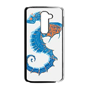 LG G2 Cell Phone Case Black DRAGONHORSE GY9217591
