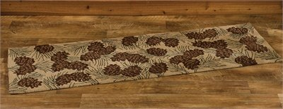 Park Designs Walk in The Woods Hooked Rug Runner, 24 x 72