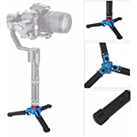 EACHSHOT Holder Stand Base Three Feet Support Stand Mini Tripod with 1/4 Screw for Monopod Zhiyun Crane / Crane M