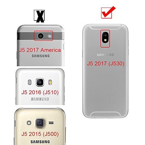 0bcdfc520e3 Funda para Samsung Galaxy J5 2017 360 Protección Integral Para Ambas Caras  Anticaída Antigolpes Mavis's Diary Carcasa Ultra Fina Delgada Tacto  Agradable ...