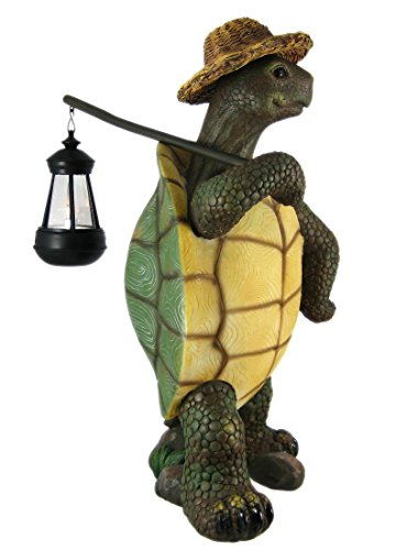 Atlantic Collectibles Nature Hiking Turtle Tortoise Statue
