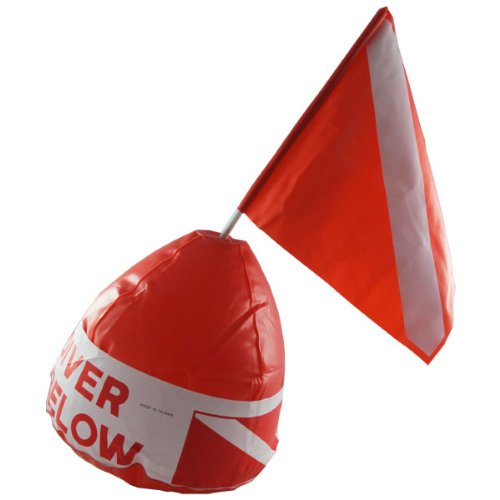 (Scuba Choice Diver Below Inflatable Signal Floater with Dive Flag)