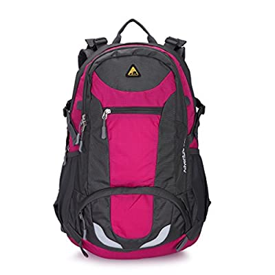 Kimlee 38L Hiking Daypack for Camping School Backpack for College Bookbag