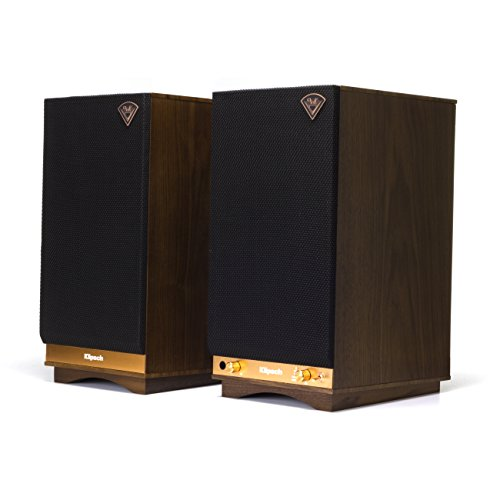 Klipsch The Sixes Powered Monitor - Walnut Veneer (Pair)
