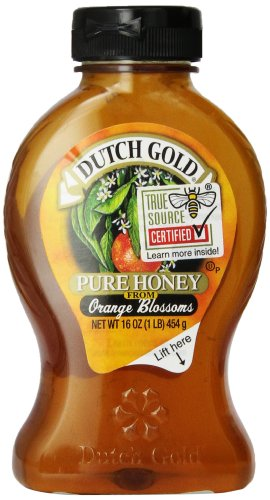 Dutch Gold Honey Orange Blossom, 16 oz