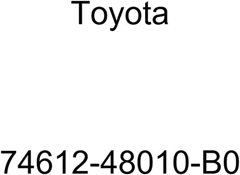 TOYOTA 74612-48010-B0 Assist Grip Cover