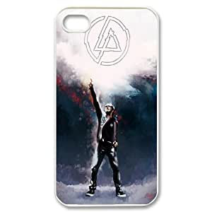 FOR Iphone 4 4S case cover -(DXJ PHONE CASE)-Linkin Park Music Band-PATTERN 12