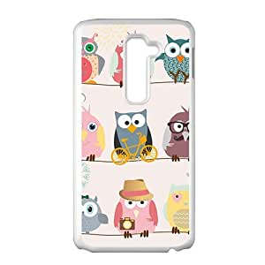 Cute Owl Creative Cell Phone Case For LG G2 by runtopwellby Maris's Diary