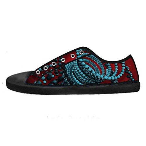 Le Lacci Scarpe 3D Alto I di delle Sopra stereoscopica Scarpe Scarpe Tela di da in Men's Custom Stampa Scarpe Shoes Ginnastica Canvas fF0fOwq