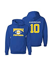 Adult Riverdale Football Andrews 10 Hoodie