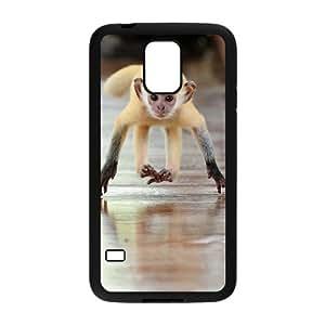 ANCASE Customized Print Monkey Hard Skin Case For Samsung Galaxy S5 I9600