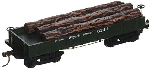 Ho Log - HO RTR OT Wood Log Car, Weyer CSM724021