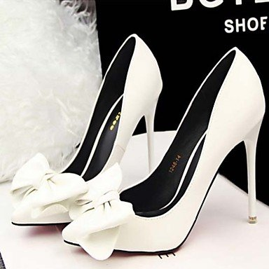 Stiletto High cirior Pumps in sene punta chlos pelle High Heels punta Heels tacchi zeheges Donna donne Gelb 55qxOrHtw
