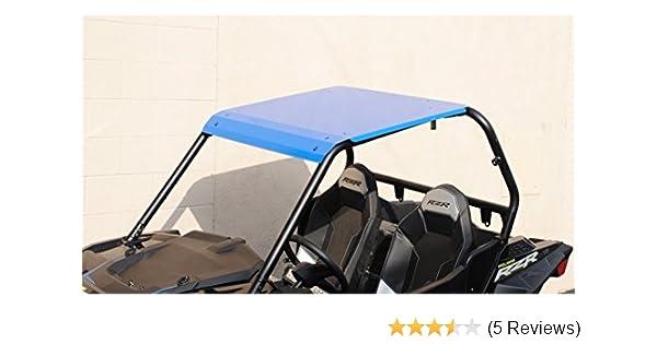 Amazon.com: 2015-2019 Polaris RZR 900/900S/1000S/XP1000/Turbo - Blue Aluminum Roof: Automotive