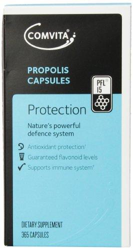 Comvita Propolis PFL15 Capsules, 365 Count