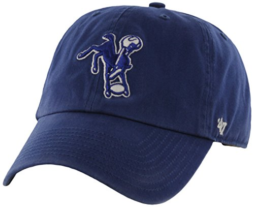 NFL Indianapolis Colts '47 Brand Clean Up Adjustable Hat , R