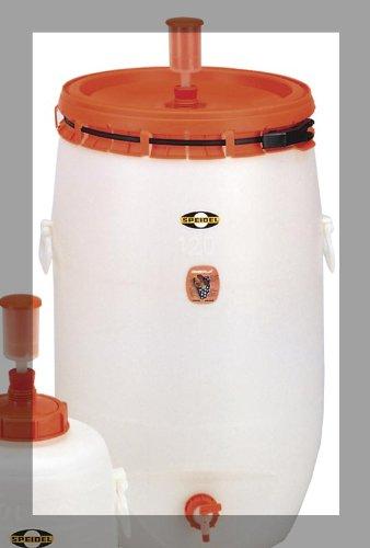 Speidel 120 Liter (31.7 Gallon) Plastic Fermenter with Airlock and Spigot by Hergestellt für DEMA