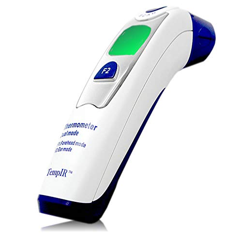 Best Baby Thermometer - Forehead and Ear Thermometer - FDA and CE Approved - 510k Certification - Adult and Child - Professional Medical Dual Mode - Fast and Accurate - Safe and Hygienic