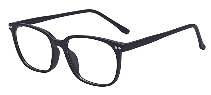 e1a257b03a Outray Vintage Rectangle Designer Glasses TR90 Frame With Clear Lens Glasses  2196c1 Black