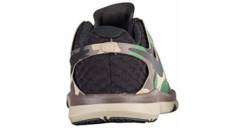 Nike Train Speed �? Herren Trainings- / Laufschuh Black / Gorge Green-barocker Brown-Bambus