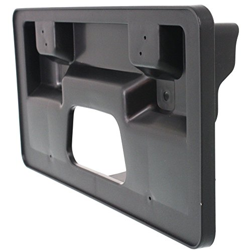 APDTY 4806190AA License Plate Bracket Plastic Frame Holder Fits 2006-2010 Dodge Charger Front Replaces 4806190AA, 4806190AB, 4806190