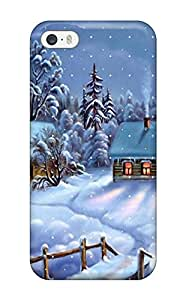 New Fashionable ZippyDoritEduard LIAJkoQ10bcTmM Cover Case Specially Made For Iphone 5/5s(awesome Winter Happy Christmas )