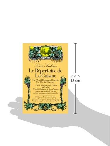 Le Repertoire De La Cuisine The World Renowned Classic Used