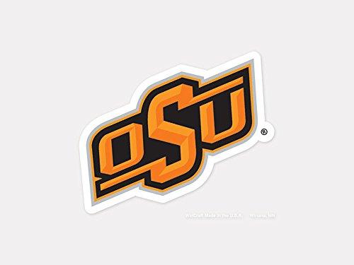 Oklahoma State University Logos - WinCraft NCAA Oklahoma State University Perfect Cut Color Decal, 4