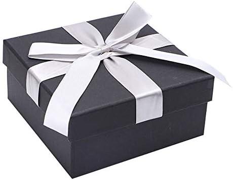 KX-QIN Caja de Regalo de joyería de Papel para joyería, Relojes pequeños, Collares, Pendientes, Pulseras