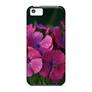 meilz aiaiNew Snap-on DeannaTodd Skin Cases Covers Compatible With ipod touch 4- The Pink Flowers In The Green Grassmeilz aiai