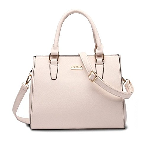 Modern Lady Bag Clutches Cross-body Bag Tote Bag Satchels Pu Leather Bag (white)--fast Delivery In One Week