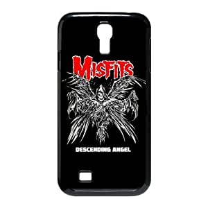 Gators Florida USA-1 Music Band The Misfits Print Black Case With Hard Shell Cover for SamSung Galaxy S4 I9500