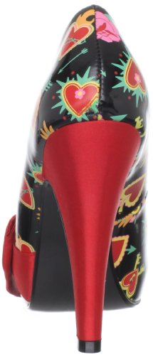Pleaser Bettie-13, Sandali eleganti da donna, Multicolore, Taglia 36