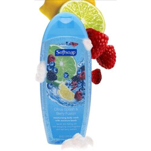 Softsoap, Moisturizing Body Wash w/ Moisture Beads, Citrus S