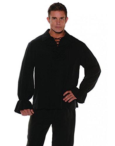 Gauze Black Pirate Shirt Costumes (Gauze Pirate Shirt)