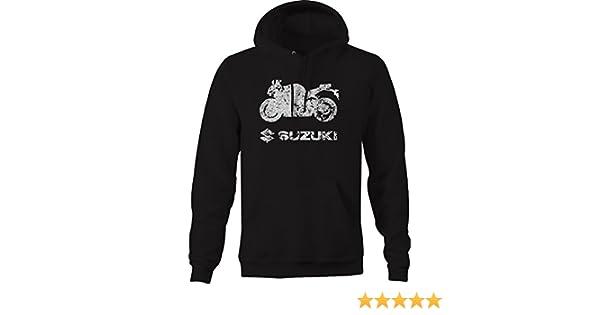 Suzuki Street Bike Gsxr Sweatshirt OS Gear Distressed