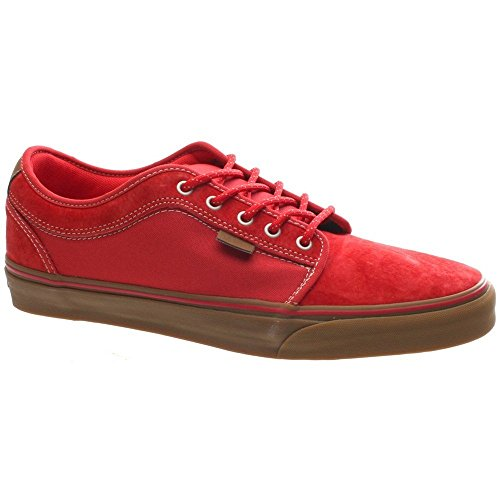 Vans Mens Chukka Low Skateboarding Shoes Explorer Red Gum 6.5 M US Mens Explorer Red Gum