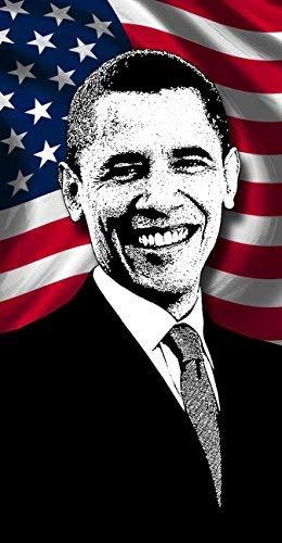 President Obama Beach Towel, Barack Obama USA President Towel [並行輸入品] B07RJMZ41K