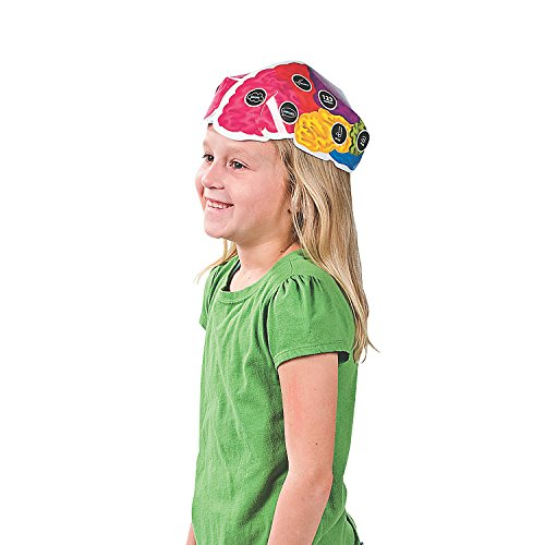 12 Brain Hats -