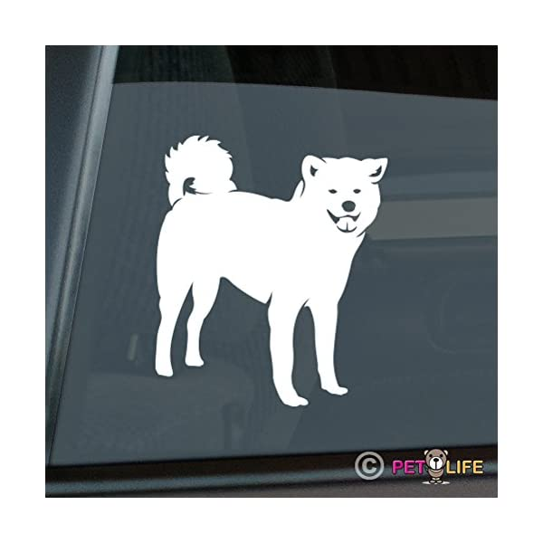Mister Petlife Akita Sticker Vinyl Auto Window Ken 1
