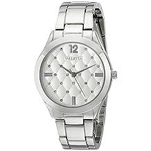 Valletta Women's FMDCT502A Silver-Tone Watch with Link Bracelet