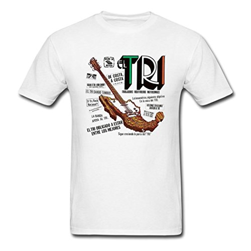 PBP popular men's El Tri fashion shirt t shirt for men White M