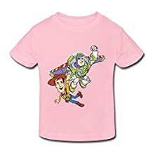 Age 2-6 Kids Toddler Toy Story 3 Woody Buzz Lightyear Little Boys Girls Tee Shirt
