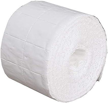 500 toallitas quitaesmalte de uñas de gel para manicura, toallitas de limpieza de algodón y papel de pelusa: Amazon.es: Belleza