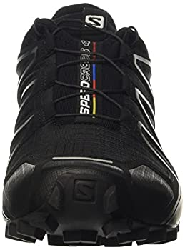 Salomon Men's Speedcross 4 Trail Runner, Black A1u8, 10 M Us 3
