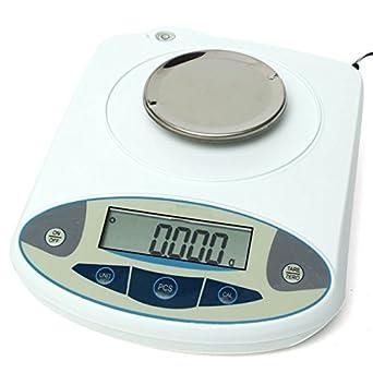 Tutoy Balanza Analítica De Precisión Electrónica De 100 X 0.001 G 1 MG De Laboratorio Digital: Amazon.es: Amazon.es