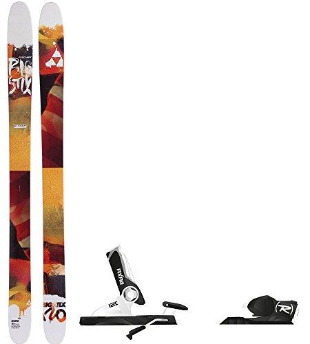 179cm Skis (Fischer Big Stix 120 Skis Mens 179 + Rossignol Axial3 120 Ski Bindings)