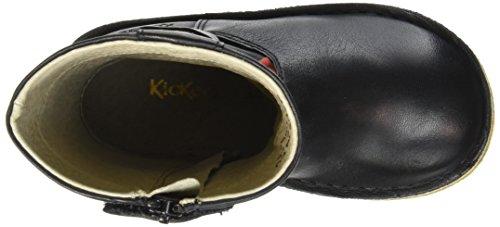 Kickers Mädchen Cresis Klassische Overknee-Stiefel Schwarz
