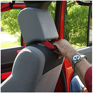 AnTom Jeep Wrangler Roll Bar Grab Handles Fits 1955-2017 Models JK JL JKU CJ CJ5 CJ7 YJ TJ Grip Handle Wrangler Roll Bar for Jeep-Handles-Wrangler-JL-Accessories
